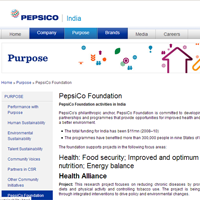 Multiple CSR Projects from Pepsico