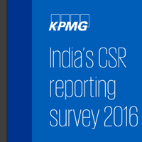 India CSR Reporting Survey 2016 by KPMG